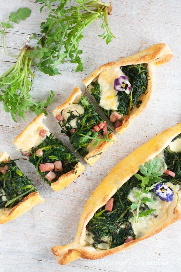 pide pizza a barchetta turca